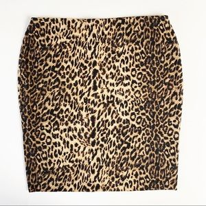 Leopard Body Con Vince Camuto sexy pin up skirt M